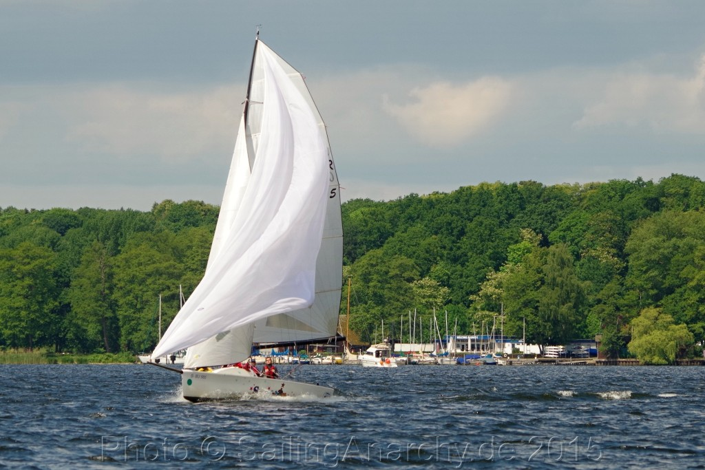 KaR - Magic 25 unter Gennaker - Photo © SailingAnarchy.de 2015