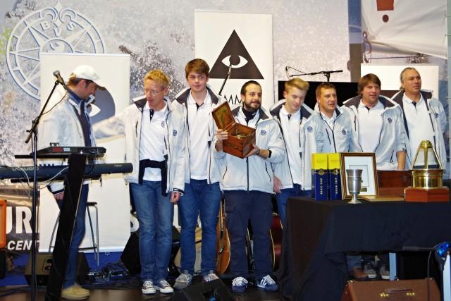Preisverleihung Berliner Yardstick Cup 2014 - Gala Nacht der Boot - Boot & Fun 2014 - Photo © SailingAnrchy.de