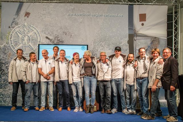 Siegerehrung Berliner Yardstick Cup 2015