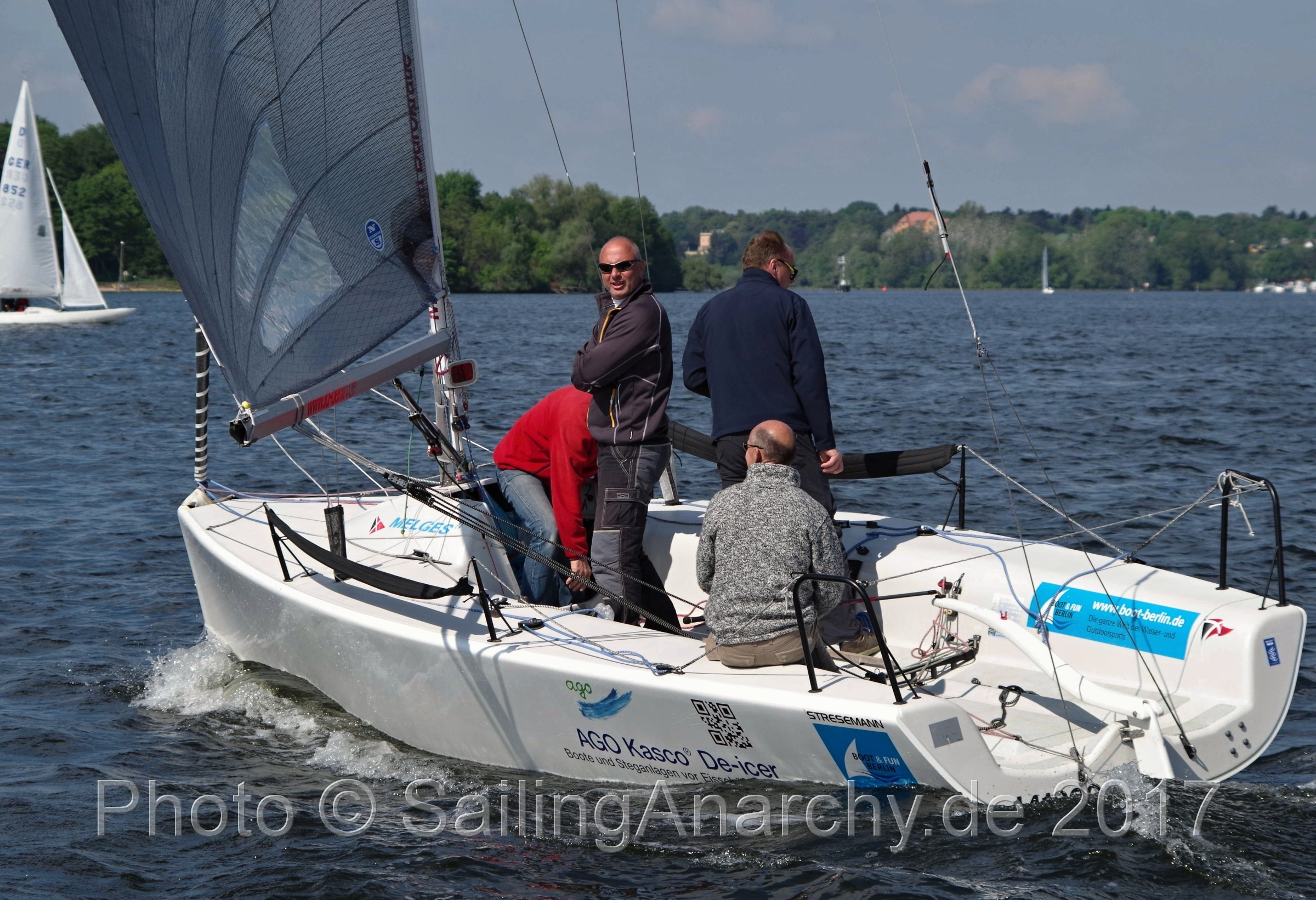 Rupenhorn Regatta 2017 - Stesemann - Melges 24 - Photo © SailingAnarchy.de 2017