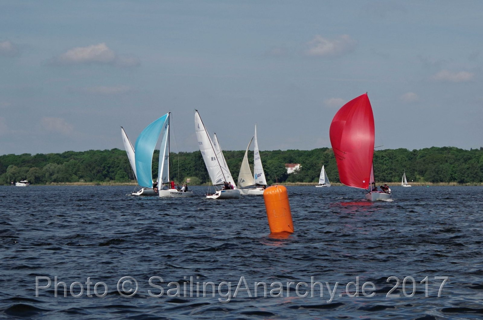Rupenhorn Regatta 2017 - J 70 - Photo © SailingAnarchy.de 2017