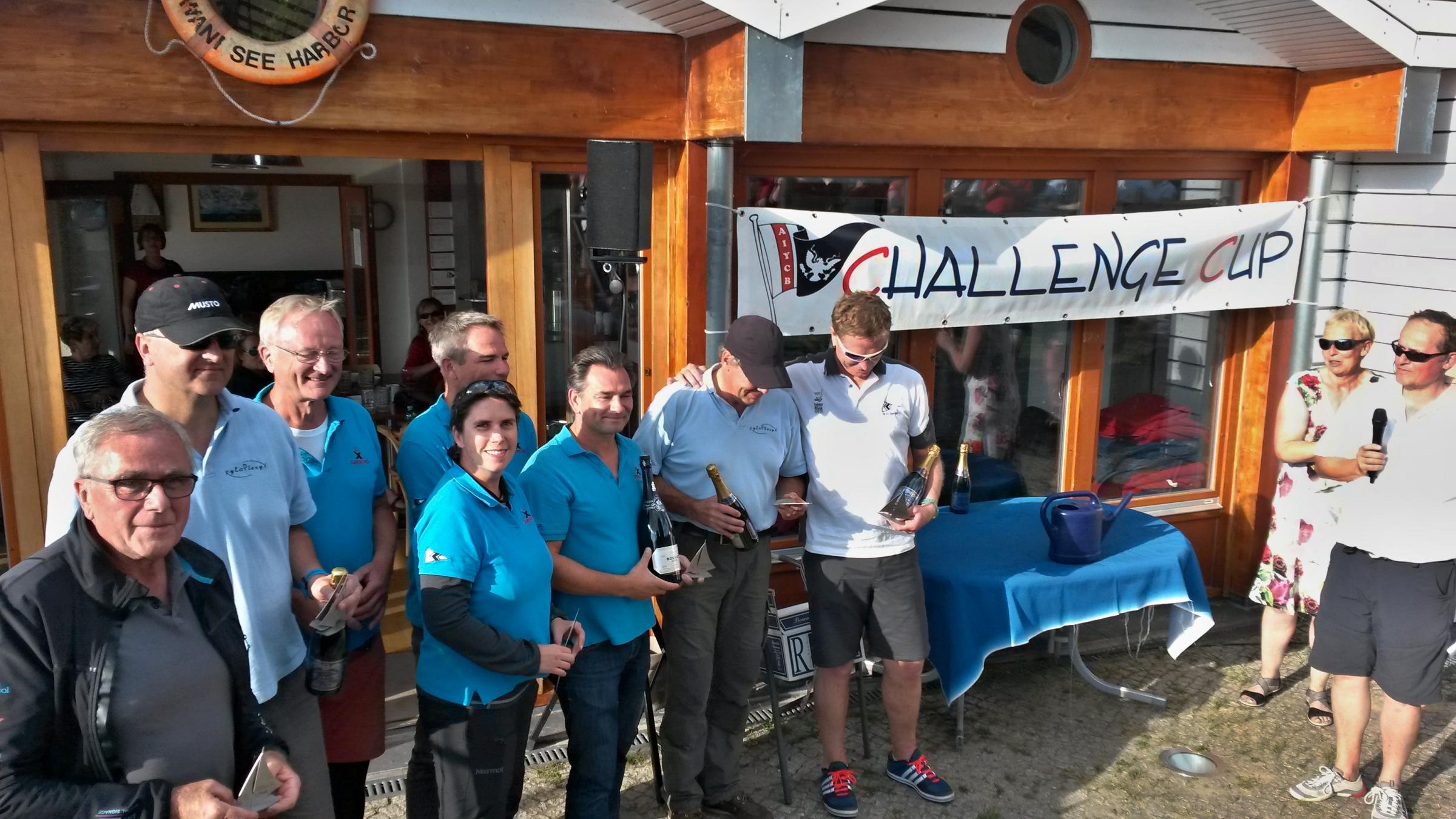 Siegerehrung beim Challenge Cup 2018 - Photo Fellenberg