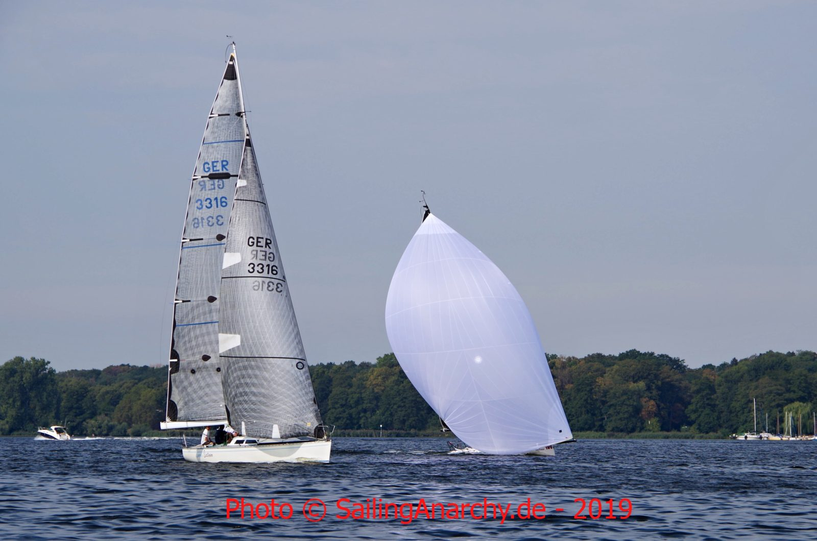 Yardstick Masters 2019 - Sweet Sixteen und Tenjin vor der Langstrecke am Sonntag - Photo © SailingAnarchy.de 2019